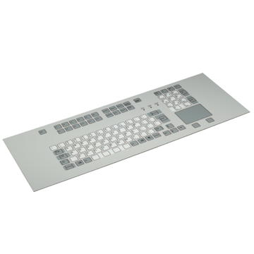 GeBE Picture KFT-104/105 Folientastatur Fronteinbauversion,Fullsize mit Touchpad, IP65