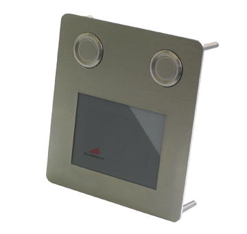 GeBE Picture Touchpad Maus in Edelstahl, Industrie Tastatur, Made in Germany, USB (TVG-Touch)
