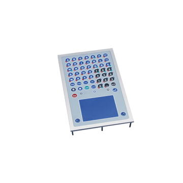 GeBE Picture GFT-51 Folientastatur Frontplattenversion mit Touchpad, frontseitig IP65, USB