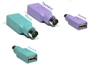 GeBE Picture USB-PS/2-Adapterstecker