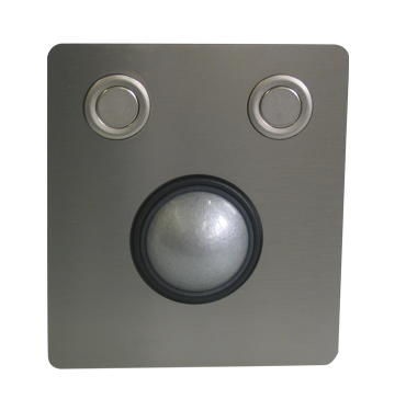 GeBE Picture Optischer Trackball Maus für Terminals, Industrie, Made in Germany, USB (TVG-38)